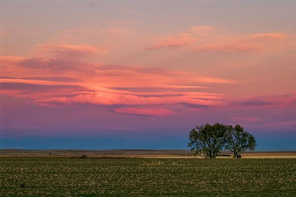 Rural Colorado Sunset