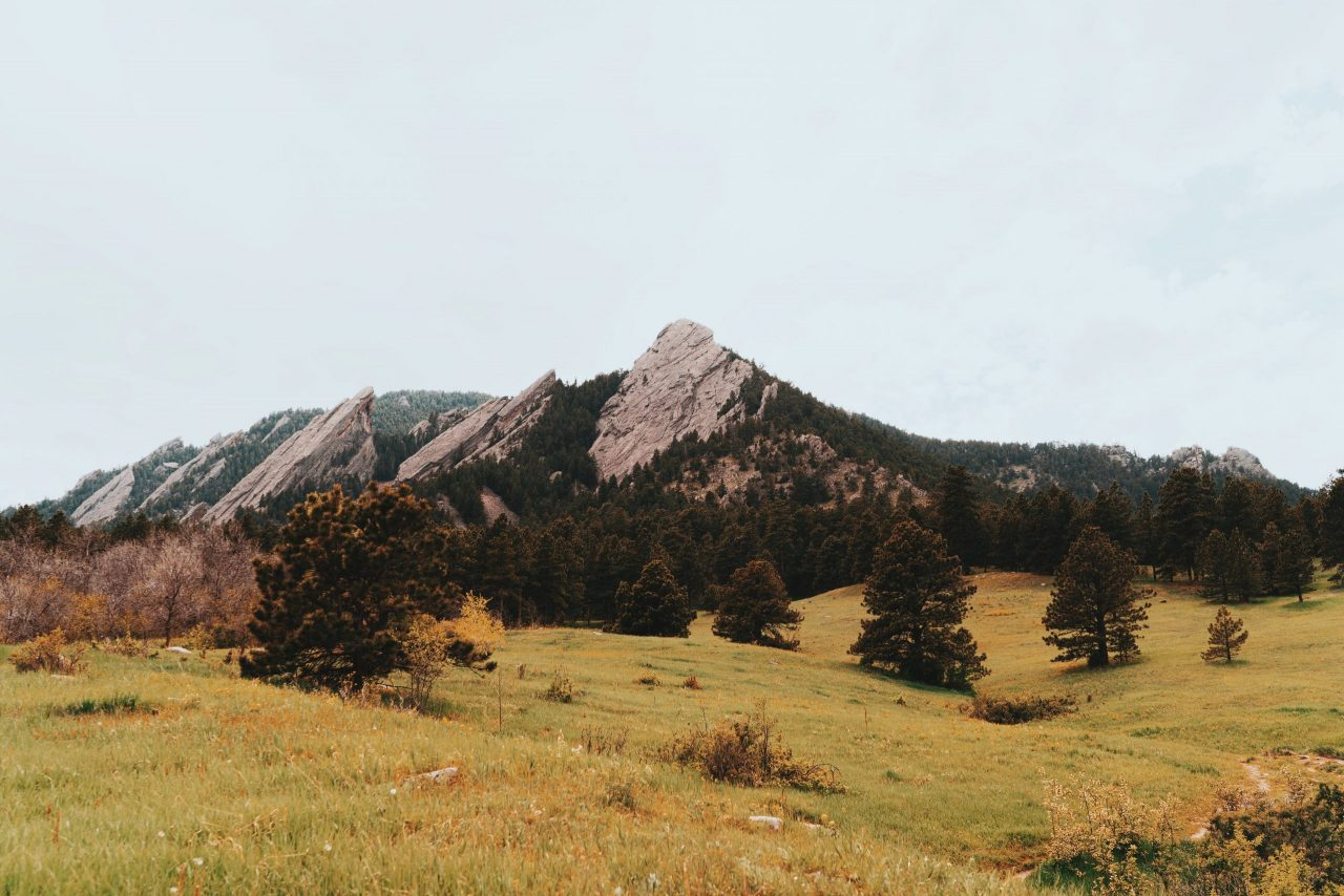 Boulder Front Range in Colorado