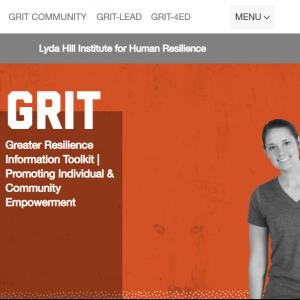 Greater Resilience Information Toolkit (GRIT) Program