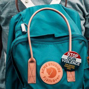 Colorado Ceasefire Backpack Pin
