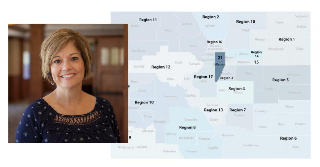 Cynthia Farrar, Regional Health Connector serving Jefferson County, Region 21